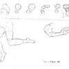 【やさしい人物画】立体の練習