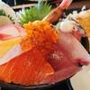 海鮮亭 高はし/市場海鮮丼と三元豚ロースとんかつセット