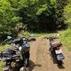 G310GSで、五ヶ瀬「大仁田山林道」から椎葉林道へ