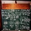 タマカフェ・メニューの看板