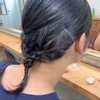 ママ的ヘアアレンジ▷【クロスで三つ編み】だけなのに少し凝って見えるヘアデザイン