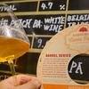 TAP②開栓:一年ぶりの登場!桃&杏使用+白ワイン樽熟成【ベルジャントリペル】『HARDY WOOD PARK Cuvée Peach ~BELGIAN TRIPEL BA:WHITE WINE with PEACH&APRICOT』