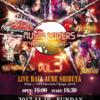 【ライブ告知】11/19(日)音撃戦隊アンプリファイヤー&11/25(土)BLACK CRAWLERS