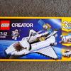 【1つのセットで3種類のレゴが作れる3in 1シリーズ】レゴ・クリエイターの スペースシャトル 31066を作ってみました!