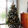 2018年 クリスマスツリーを飾りました