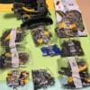 【組み立て中】レゴ テクニック「42055バケット掘削機」、5日目 惰性でひたすら組み立てます。