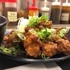 松のや『油淋鶏定食大盛り』待望の油淋鶏復活!!カラッとジューシーな鶏モモ肉の唐揚げがやたらと美味いんだなぁこれが!!