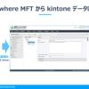 ファイル転送製品 GoAnywhere MFT からkintoneデータにアクセス