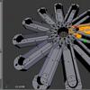 3Dプリンター用データをBlenderで作る⑤オブジェクトを回転させる