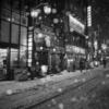 夜の雪散歩とRICOH GR 吉祥寺