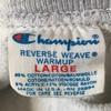 801 VINTAGE Champion reverse weave GRAY PLAIN 80's