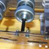 CuBase組み立て ⑥モーターと転輪の設置と左右筐体の接合