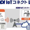 IoTのインフラサービス【KDDI IoTコネクト LPWA】 が2018年1月より始めるようです!
