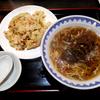 「天神橋 上海食苑」の「点心付き中華麺セット」
