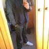 冬の私服の制服化(?)はスウェットパーカと暖パン。