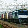 7月29日撮影 東海道線 平塚~大磯間 貨物列車撮影 久々のEF200