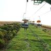 大室山リフトはちょっぴり怖いけど、360度パノラマは最高に綺麗だった