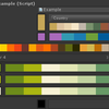 【Unity】【Odin - Inspector and Serializer】カラーパレットから色を指定できるようになる「ColorPalette」属性