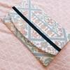 【自分へのご褒美】大島紬を使った袱紗をつくっていただきました!