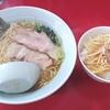 【湯田ラーショ】 人気メニューのラーメンネギ丼セットのコスパが最高!