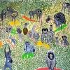 ミナペルホネンの世界に浸る:皆川明さんのライブペイント