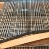 カシミアのマフラー・房作りと縮絨と仕上げ