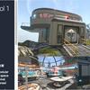 3D Scifi Base Vol 1 惑星に作られた大きな基地と豊富な施設が美しいハイクオリティな3Dモデルパック
