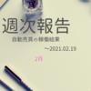 【週報:97週目】現設定だとiサイクル2は苦難の年になるか?(2021.02.19現在)