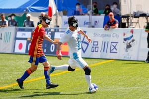 【ブラインドサッカー】ワールドGP~日本が世界ランキング3位スペインと引き分け