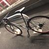 通勤用の自転車は。オモチャ感覚で!?