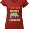 Cute Vintage Retro save the Chubby Unicorns shirt
