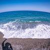 エメラルドグリーンのヒスイ海岸