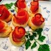 【おもてなし・パーティー】簡単ハムの薔薇パイ!