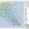 【本州上陸】台風20号シマロン進路予想の米軍最新発表データ