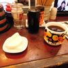 築地の「米花」でミニ海鮮丼、かぼちゃとがんも、けんちん汁。