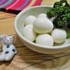 簡単!!うずらの茹で卵の作り方/レシピ