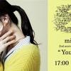 "milet 2nd anniversary live『 ""You & I""』2021年 3月6日♪"