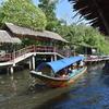 バンコク市内からアクセスのいい水上マーケット!