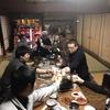二月の関市、煩悩寺新年会