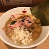645. 蟹そば@crab台風。(人形町):贅沢すぎるド濃厚カニスープに絶品雑炊付きの大満足セット!