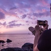 済州島(チェジュ島)おすすめフォトスポット #夕焼けの美しい「イホテウ海水浴場」