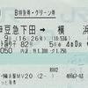 リゾート踊り子82号 B特急券・グリーン券