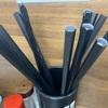 食堂オーナーにお願い! 市販のお箸使うなら使いやすさからデザインは統一して!!