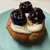 🚩外食日記(833)    宮崎ランチ   「ディグルパン(DIGRU PAN)」③より、【ダークチェリークロワッサン】【チーズクリームとハチミツのクルミパン】‼️