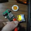 MP3プレイヤ オレンジ LIPO寿命