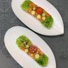 夏の薬味で炒飯&夏野菜のゼリー寄せ、牛肉の赤ワイン煮込みでフレンチ気分