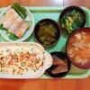 豆腐と鮭ほぐし身のクリームグラタン