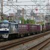 5月9日撮影 東海道線 平塚~大磯間 貨物列車撮影 1155ㇾ 2079ㇾ