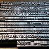 活版印刷の刻印(メタルスタンプ)