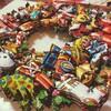 ◆◆◆GEME ARTのクリスマスリース。作りたかった作品がようやく作れました!◆◆◆